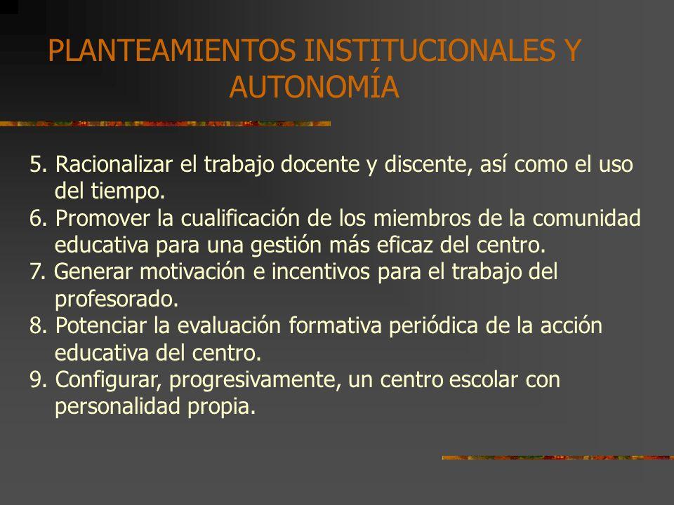 2. EL PROYECTO CURRICULAR DE CENTRO