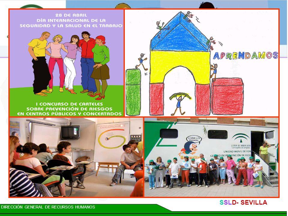 DIRECCIÓN GENERAL DE RECURSOS HUMANOS SSLD- SEVILLA Acción 14: PARTICIPACIÓN DE LOS AGENTES SOCIALES Se impulsará la creación de una Mesa de Diálogo S