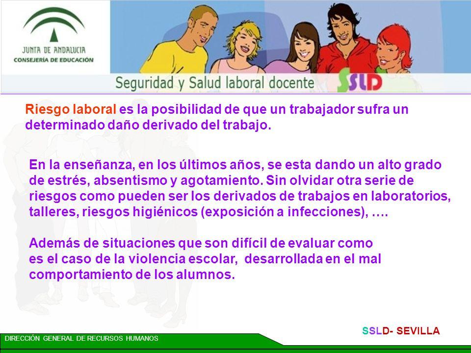 DIRECCIÓN GENERAL DE RECURSOS HUMANOS SSLD- SEVILLA NOVEDAD Publicado el cuadro de enfermedades profesionales con la incorporación de los nódulos voca