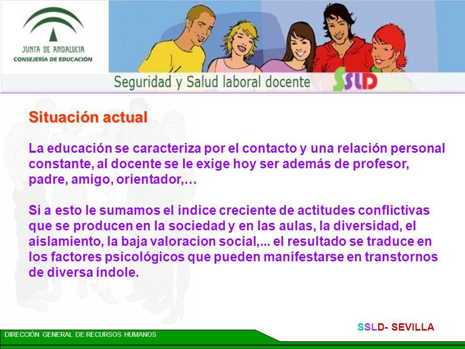 DIRECCIÓN GENERAL DE RECURSOS HUMANOS SSLD- SEVILLA PLAN DE AUTOPROTECCIÓN: DOCUMENTO I.