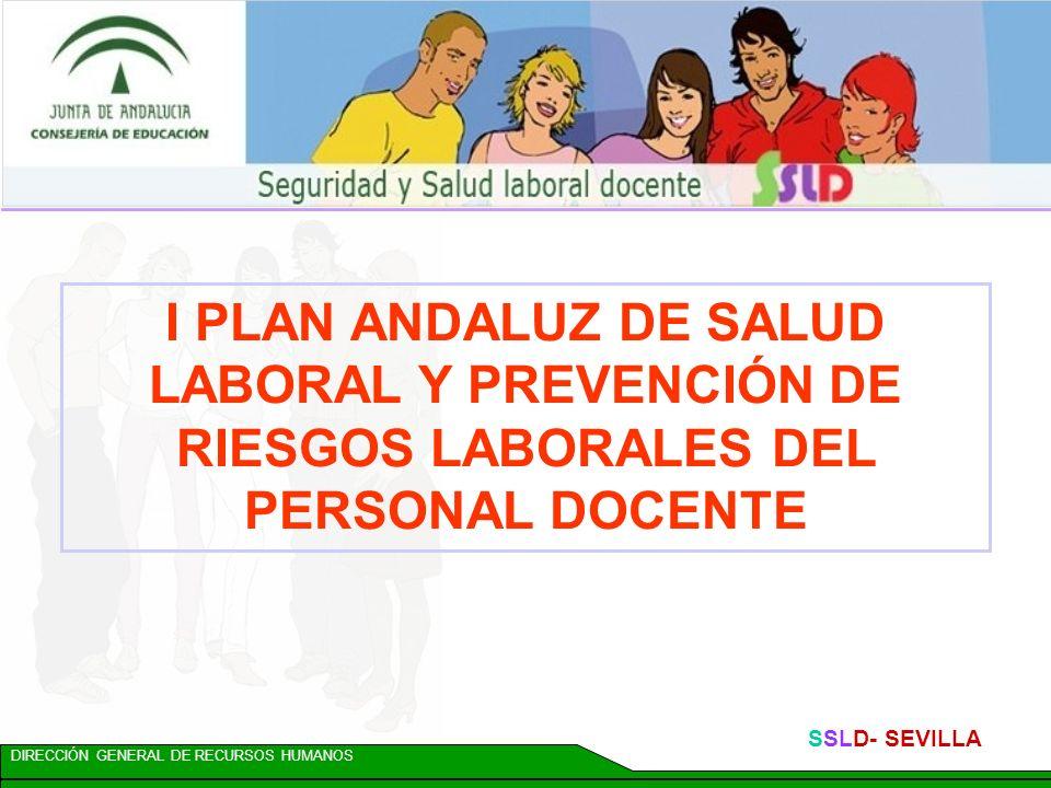 DIRECCIÓN GENERAL DE RECURSOS HUMANOS SSLD- SEVILLA Acción 8: COORDINACIÓN DE ACTUACIONES Para favorecer la coordinación regional, se crea: Dpto.