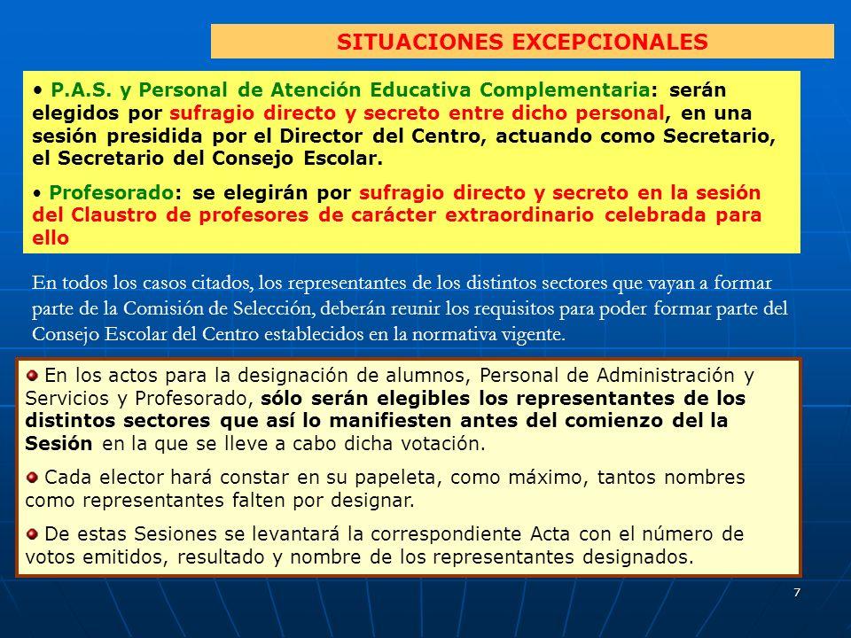 7 SITUACIONES EXCEPCIONALES P.A.S.