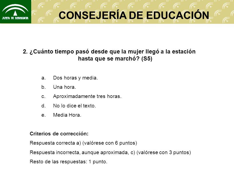 CONSEJERÍA DE EDUCACIÓN 2.