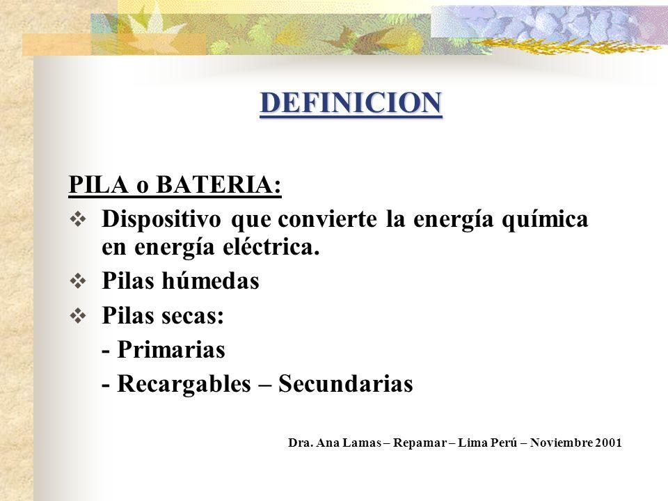PRESENTACION DEL TEMA A) Pilas y Baterías B) Envases de Agroquímicos C) Aceites lubricantes usados I. Tratamiento y disposición final II. Aspectos leg