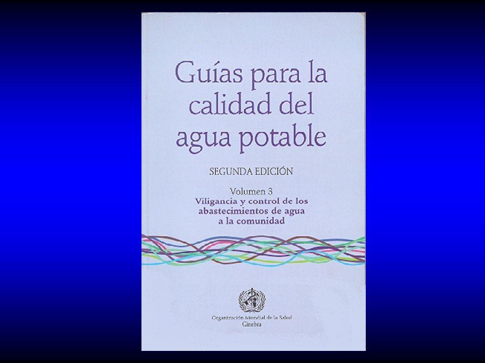 GUIA CEPIS PARA LA VIGILANCIA Y CONTROL DE LA CALIDAD DEL AGUA PARA CONSUMO HUMANO