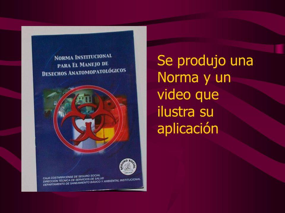Manejo y disposición de desechos químicos en áreas hospitalarias SEGUNDA ETAPA DEL PROYECTO