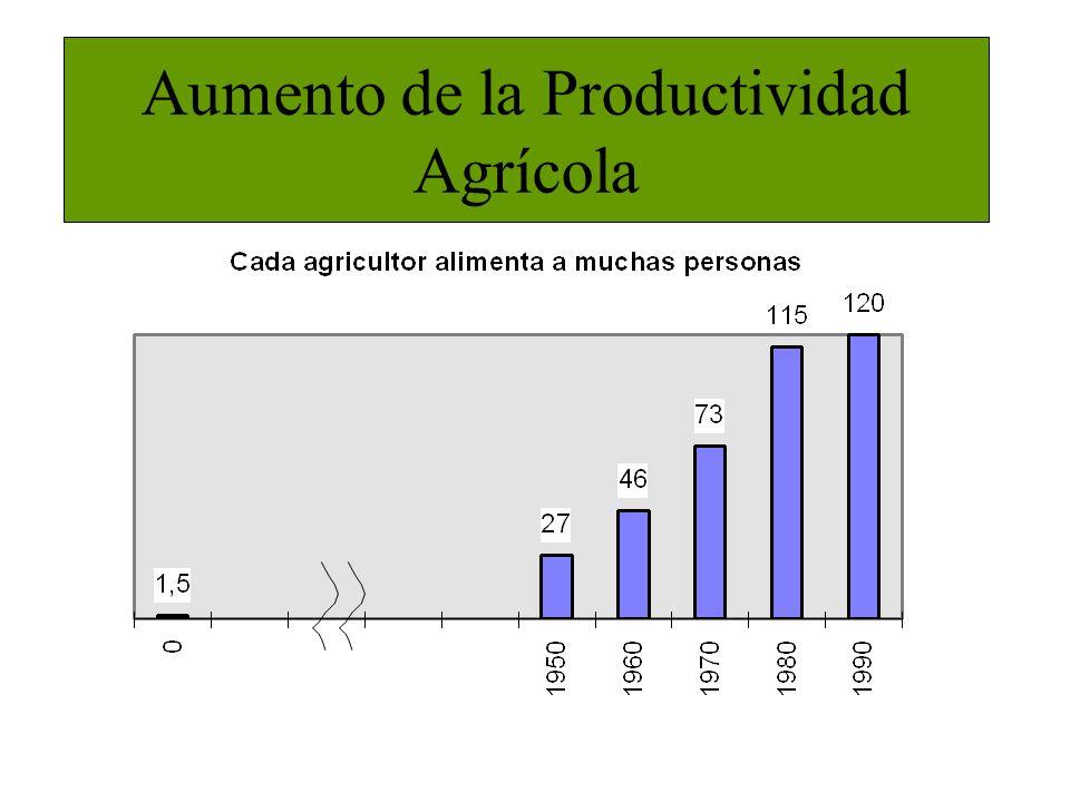 Aumento de la Productividad Agrícola