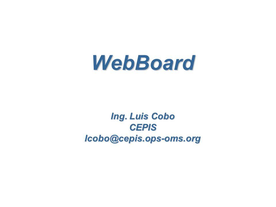 ¿Qué es un WebBoard.