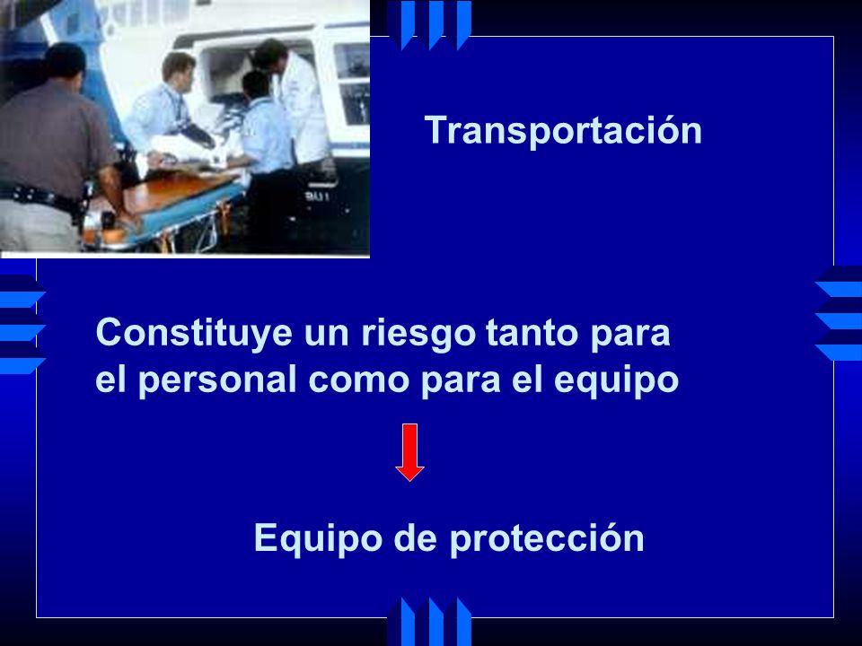 Consideraciones: Utilizar equipo de protección personal para los procedimientos de descontaminación TRATAMIENTO