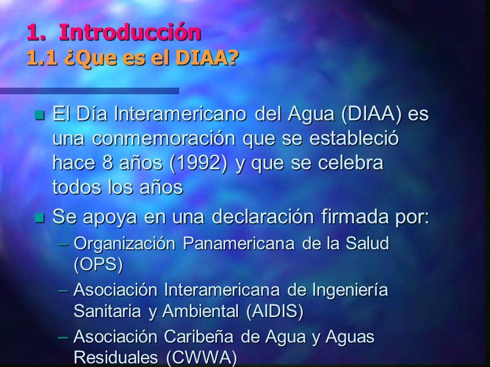 1. Introducción 1.1 ¿Que es el DIAA.