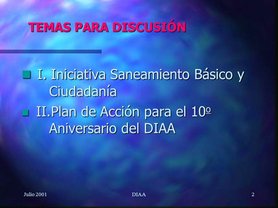 Julio 2001DIAA23 III.