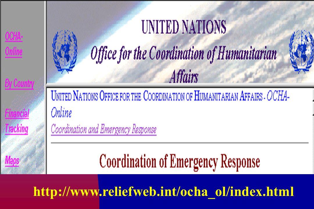 http://www.reliefweb.int/ocha_ol/index.html