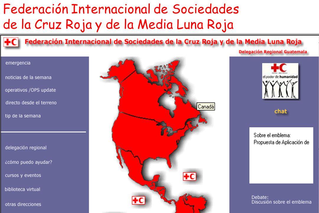 Federación Internacional de Sociedades de la Cruz Roja y de la Media Luna Roja