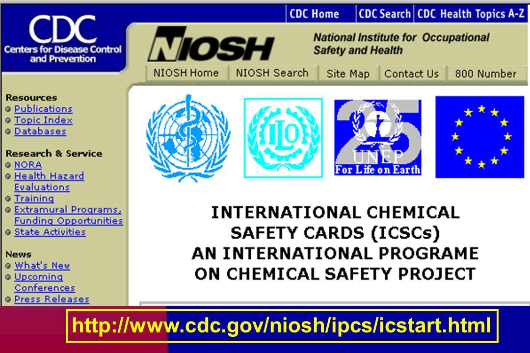 http://www.cdc.gov/niosh/ipcs/icstart.html