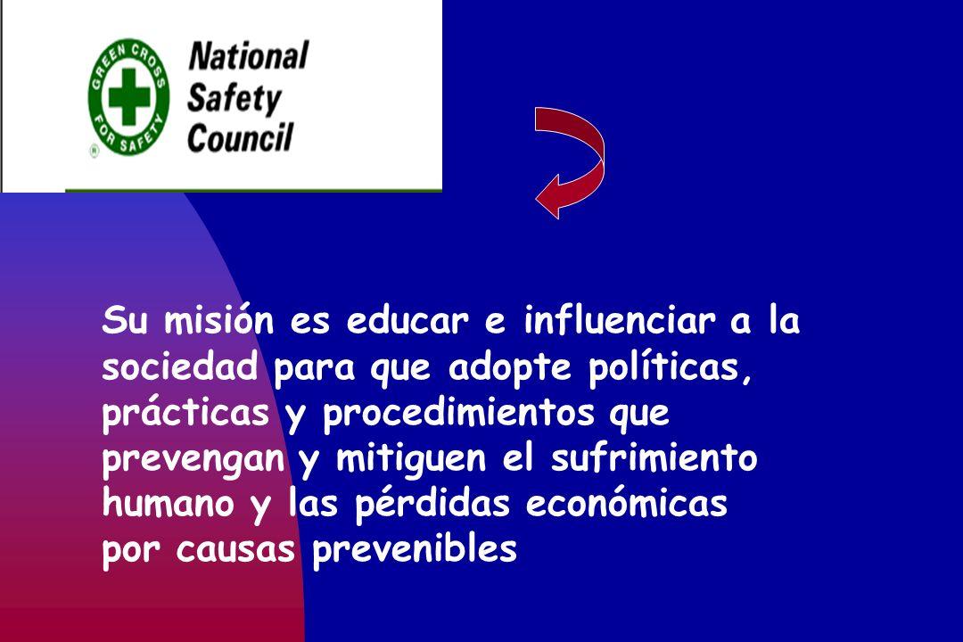 Su misión es educar e influenciar a la sociedad para que adopte políticas, prácticas y procedimientos que prevengan y mitiguen el sufrimiento humano y