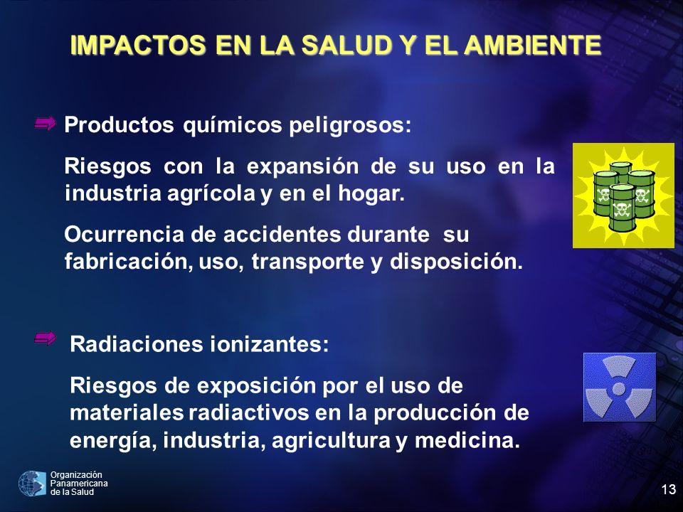 Organización Panamericana de la Salud 13 Radiaciones ionizantes: Riesgos de exposición por el uso de materiales radiactivos en la producción de energí