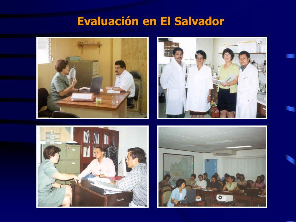 Evaluación en El Salvador