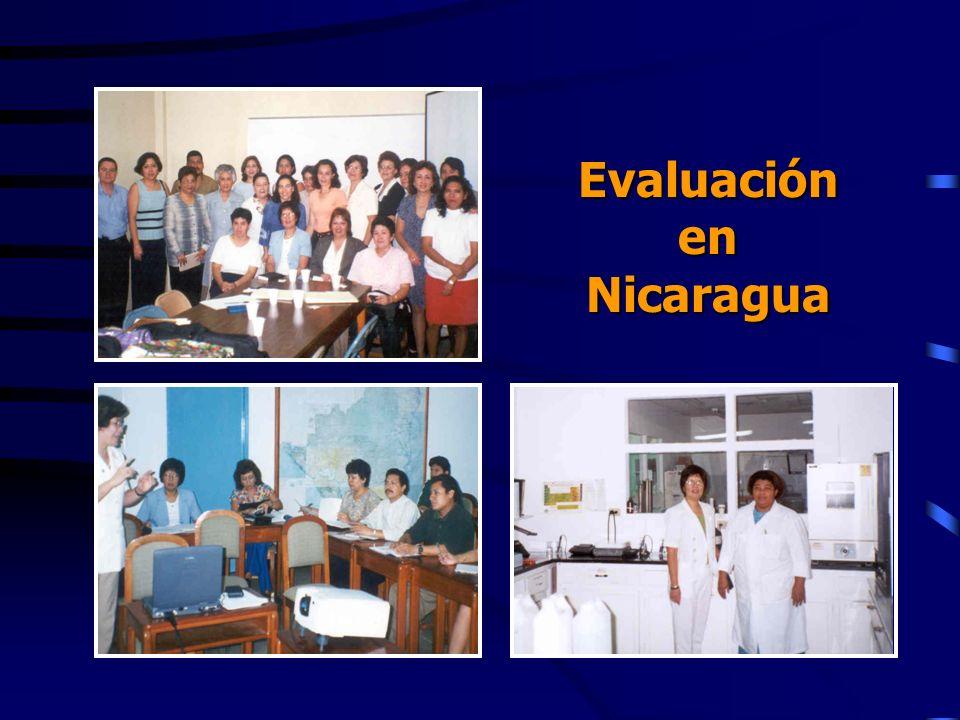 Evaluación en Nicaragua