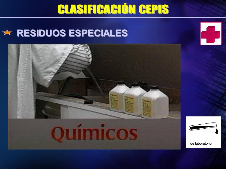 RESIDUOS ESPECIALES