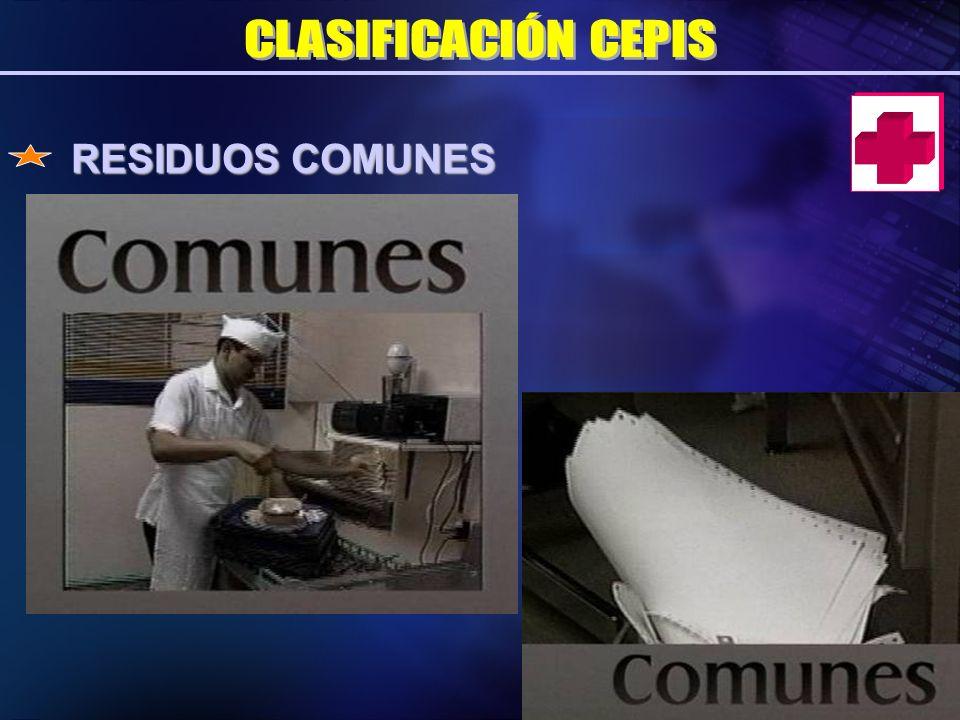 RESIDUOS COMUNES