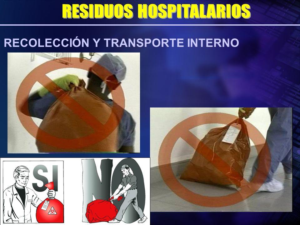 RECOLECCIÓN Y TRANSPORTE INTERNO