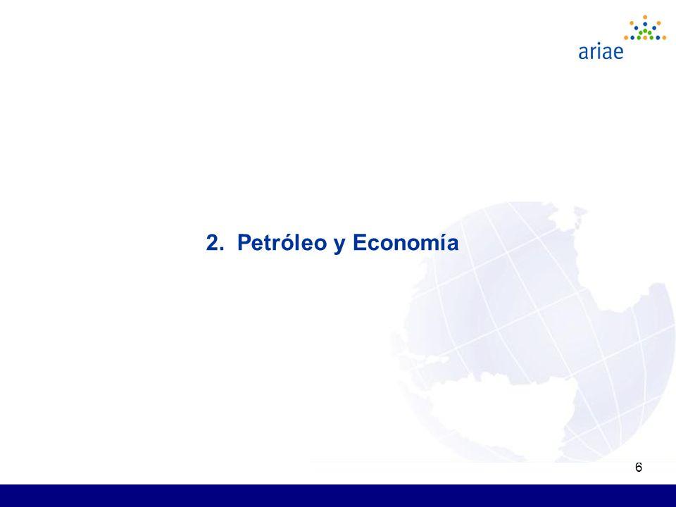 6 2. Petróleo y Economía