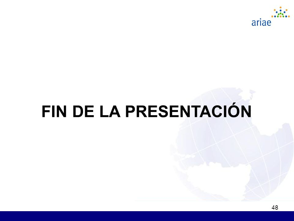 48 FIN DE LA PRESENTACIÓN