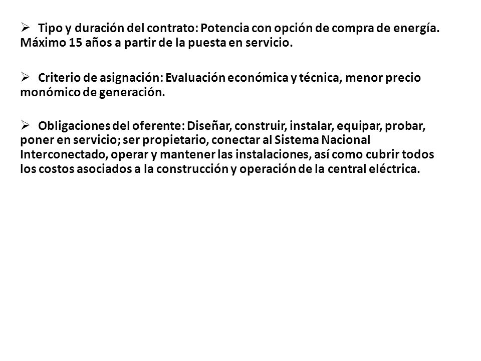 EventoFecha 1 Publicación de la convocatoria12/10/2007 2 Fecha límite para entrega de preguntas de la licitación y del contrato 28/03/2008 3 Fecha límite para dar respuestas a las preguntas04/04/2008 4 Recepción de Propuestas Técnicas y Económicas y apertura de propuestas técnicas 17/04/2008 5 Evaluación de propuestas técnicas 18/04/2008 al 04/05/2008.