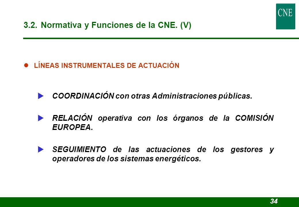 lLÍNEAS INSTRUMENTALES DE ACTUACIÓN COORDINACIÓN con otras Administraciones públicas. RELACIÓN operativa con los órganos de la COMISIÓN EUROPEA. SEGUI