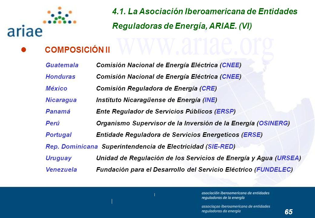 Guatemala Comisión Nacional de Energía Eléctrica (CNEE) Honduras Comisión Nacional de Energía Eléctrica (CNEE) México Comisión Reguladora de Energía (