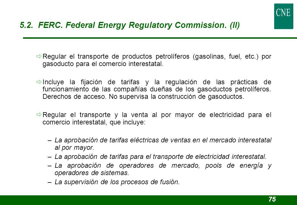 Regular el transporte de productos petrolíferos (gasolinas, fuel, etc.) por gasoducto para el comercio interestatal. Incluye la fijación de tarifas y