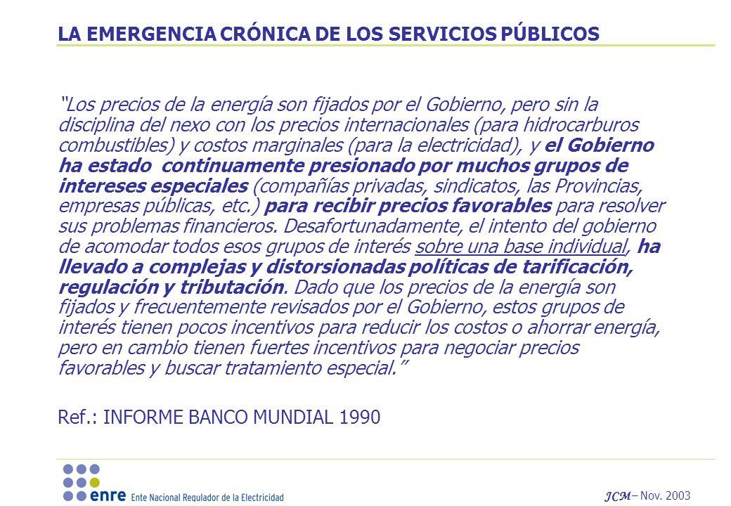 JCM – Nov.2003 CUALES SON ESOS LINEAMIENTOS GENERALES .