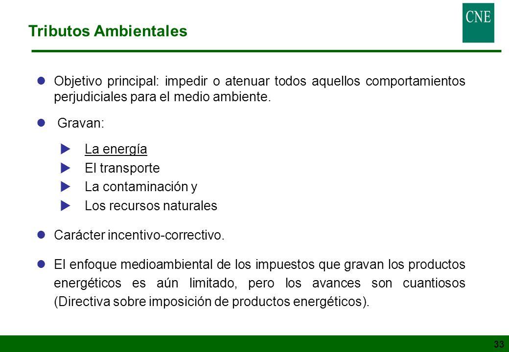 33 lObjetivo principal: impedir o atenuar todos aquellos comportamientos perjudiciales para el medio ambiente. l Gravan: La energía El transporte La c