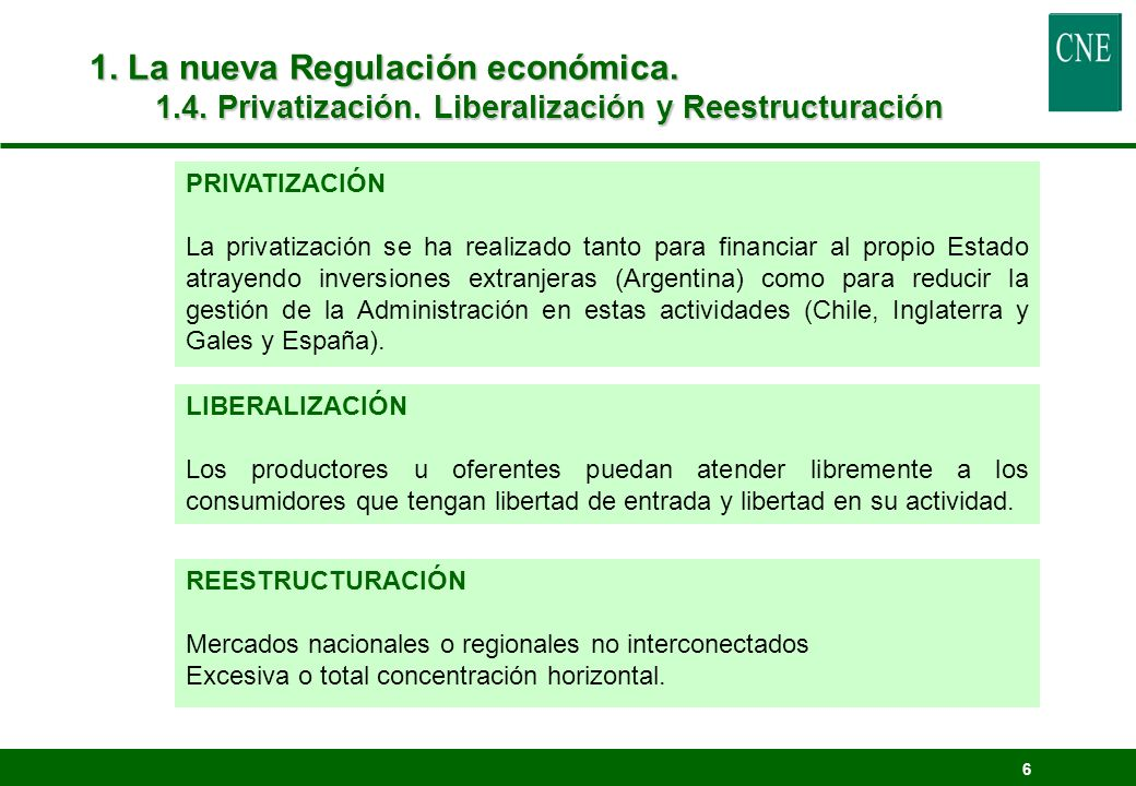 57 4.Estructura Tarifaria en España 4.5.