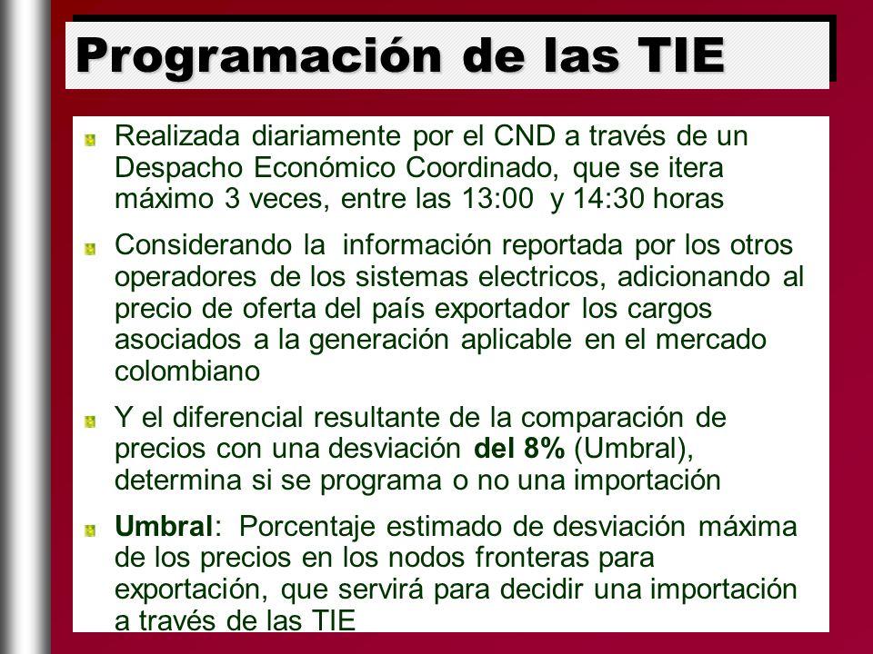 Realizada diariamente por el CND a través de un Despacho Económico Coordinado, que se itera máximo 3 veces, entre las 13:00 y 14:30 horas Considerando