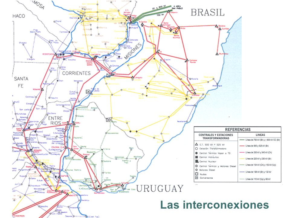 Resumen La interconexión entre Uruguay y Argentina en el sistema de transmisión de 500 kV de Salto Grande es un elemento relevante para los sistemas eléctricos de ambos países En esta interconexión también juega también un papel destacado la central binacional para la operación misma del sistema (Regulación de frecuencia).