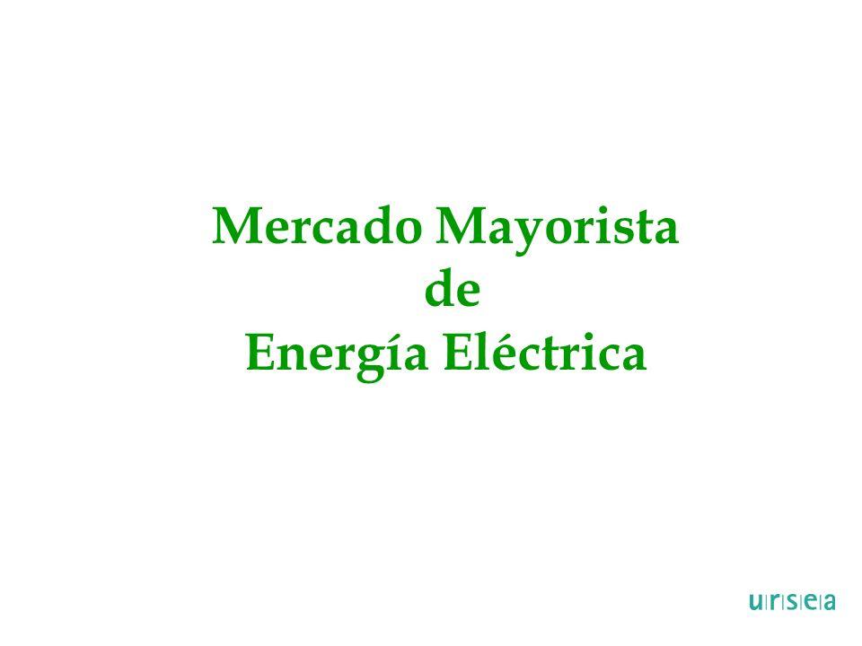 Mercado Mayorista de Energía Eléctrica