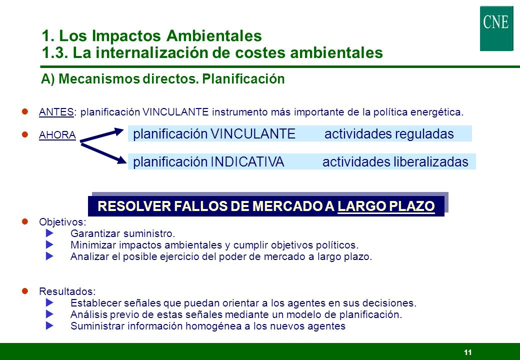 10 DIRECTIVA 97/11/CE : Evaluación de las repercusiones de determinados proyectos sobre el medio ambiente, que modifica la Directiva 85/337/CEE (Evaluación Impacto Ambiental).