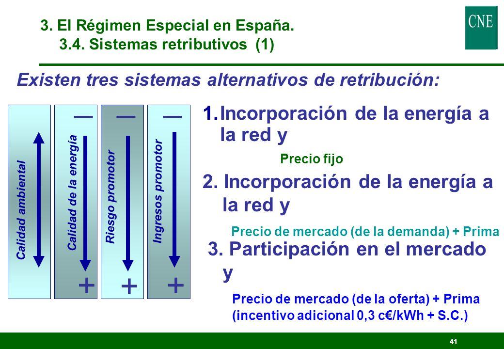 40 3. El Régimen Especial en España. 3.3. Evolución
