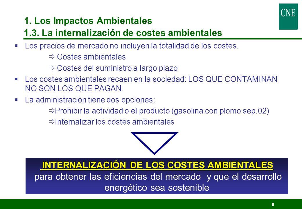 7 EFECTOS MEDIOAMBIENTALES DE LAS LINEAS (trasporte, distribución y consumo) - INDUCCIÓN ELECTROESTÁTICA - INDUCCIÓN ELECTROMAGNÉTICA - PÉRDIDAS DE ENERGÍA (Calentamientos) - RUIDO AUDIBLE - RADIOINTERFERENCIAS - EFECTOS BIOLÓGICOS 1.
