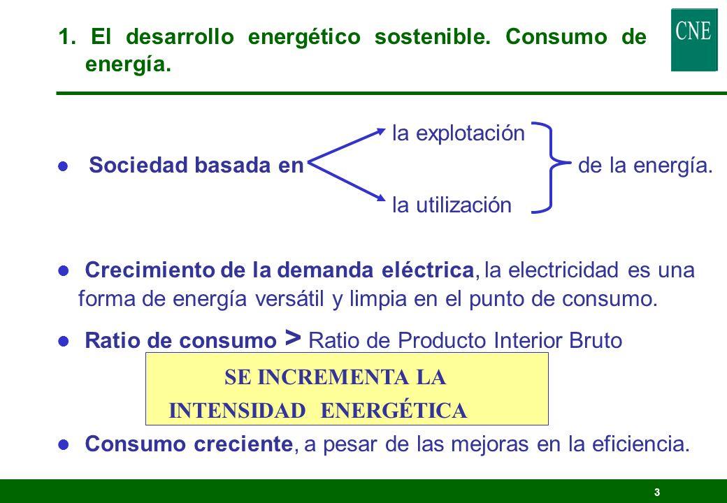 2 Índice 1. El desarrollo energético sostenible. 2. Los impactos ambientales 3. La internalización de costes ambientales 4. La regulación eléctrica y