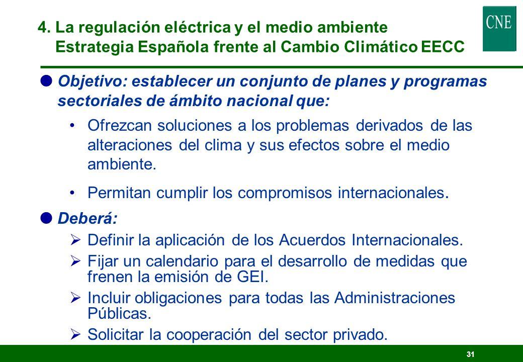 30 Objetivo: impulsar actuaciones y políticas de DS 3 fases (Comis. Interministerial, Consulta pública e institucional, Aprobación) Documento de Consu
