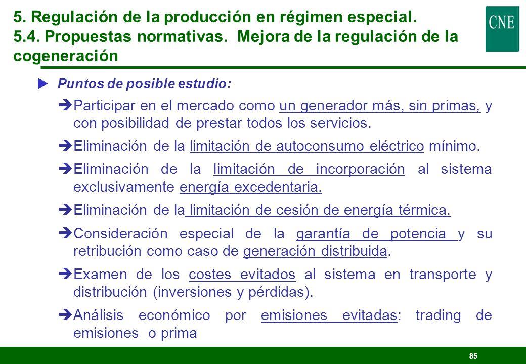 84 Posibilidades: lEl RD 841/2002 permite la contratación entre productores en régimen especial y comercializadores para la venta de energía a consumi