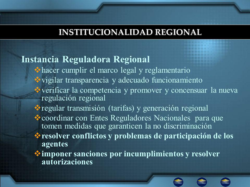 Condiciones que viabilizan mercado eléctrico regional Necesidades eléctricas insatisfechas Acuerdos marcos regionales Proyectos claves de interconexión Creación de institucionalidad TRATADO MARCO DEL MERCADO ELÉCTRICO DE AMÉRICA CENTRAL