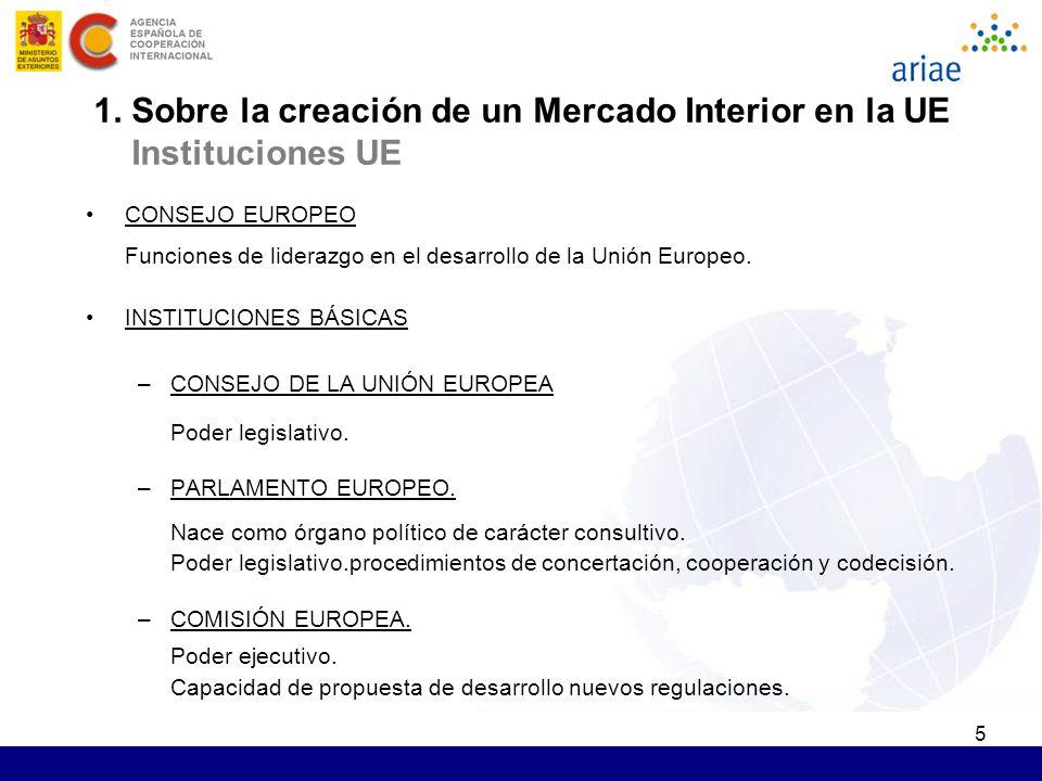 5 CONSEJO EUROPEO Funciones de liderazgo en el desarrollo de la Unión Europeo. INSTITUCIONES BÁSICAS –CONSEJO DE LA UNIÓN EUROPEA Poder legislativo. –