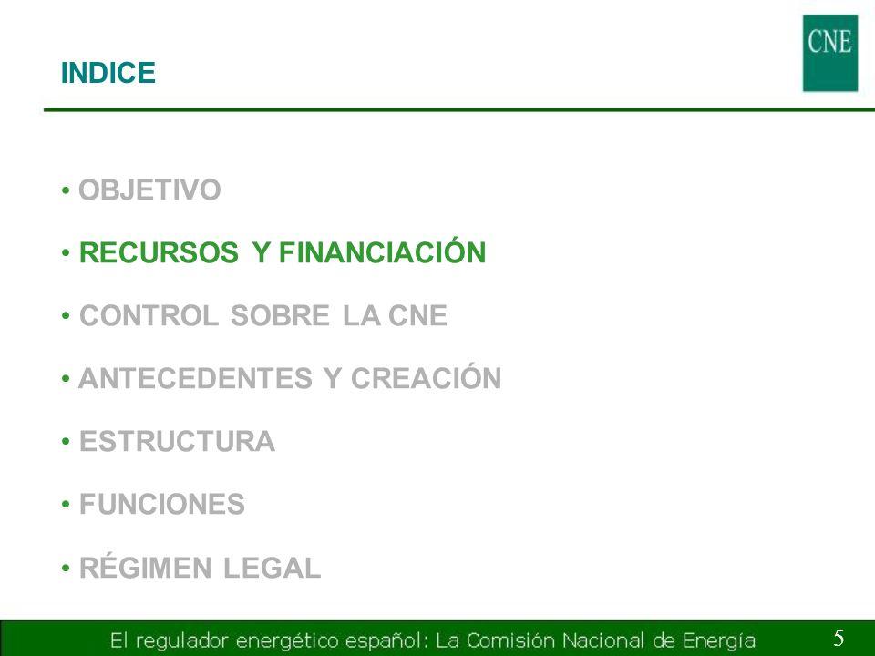 RECURSOS Y FINANCIACIÓN 6 RECURSOS A.Patrimonio propio B.