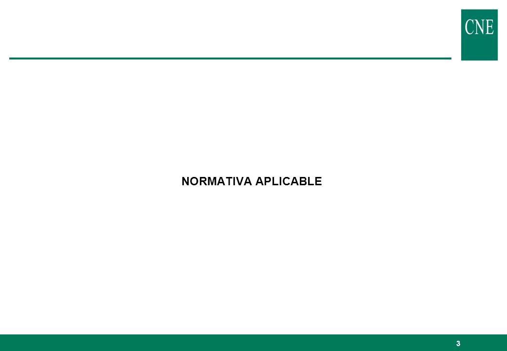 3 NORMATIVA APLICABLE