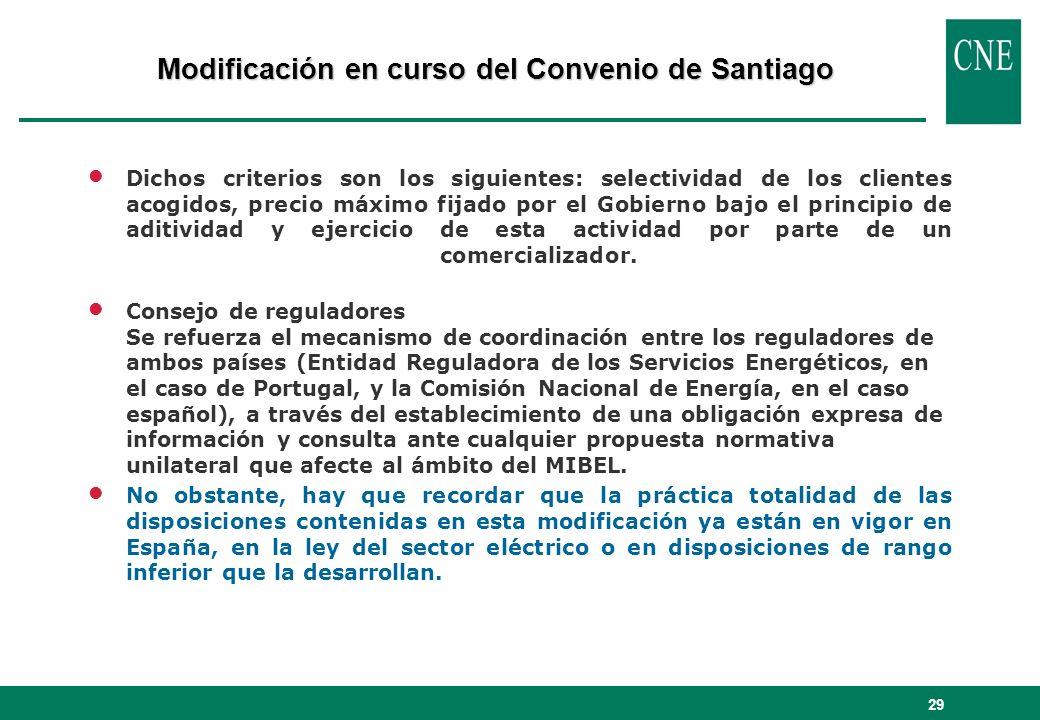 29 lDichos criterios son los siguientes: selectividad de los clientes acogidos, precio máximo fijado por el Gobierno bajo el principio de aditividad y