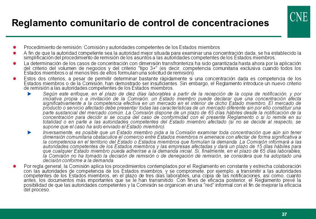 37 lProcedimiento de remisión: Comisión y autoridades competentes de los Estados miembros lA fin de que la autoridad competente sea la autoridad mejor