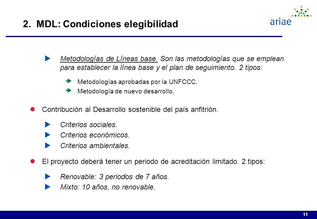 11 Metodologías de Líneas base.